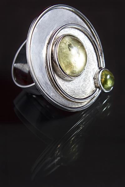 Ali Rand Mexico Distrito Federal Jewelry Ring Silver