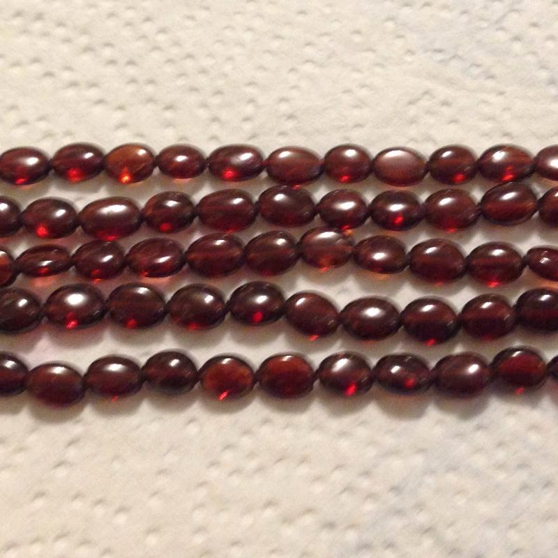 Ali Rand Mexique Distrito Federal Beads Strand Red Rectangle