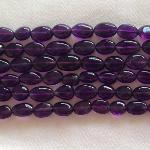 Ali Rand Mexico Distrito Federal Beads Strand Purple Rectangle