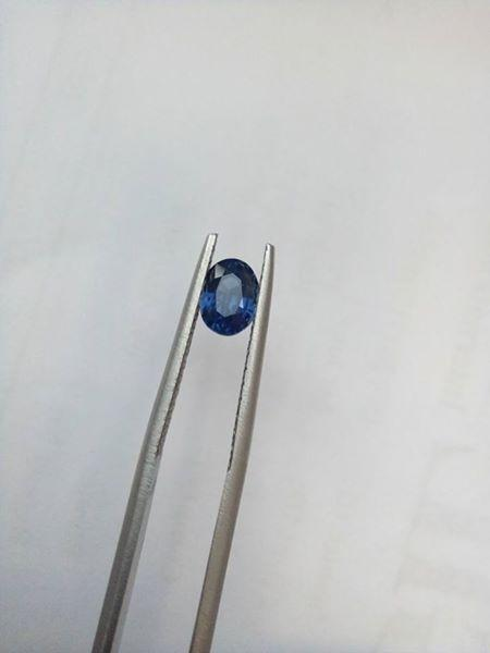Gemville Thailand Bangkok 1.23 CTS Certified Violet to Blue Color Change Sri Lankan Sapphire Certified