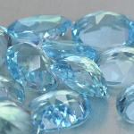 Gemville   BEAUTIFUL 8 X 6 MM SKY BLUE TOPAZ 200 CTS OVAL LOOSE GEMSTONES
