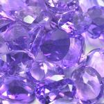 Gemville   INCREDIBLE 35 CTS NATURAL AMETHYST 6x4MM LOT LOOSE GEMSTONES