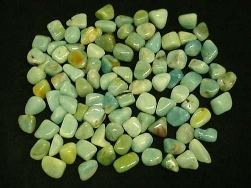 Earth Treasures États-Unis Massachusetts Tumbled Amazonite From China List Price $280