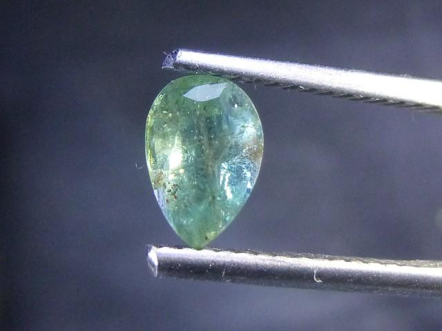 Gemtrading Turkey Izmir 0.75cts Zambian Emerald , 100% Natural Gemstone