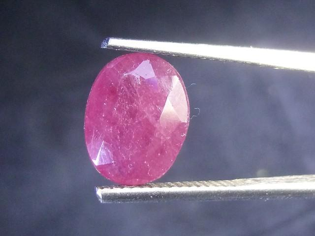 Gemtrading Turkey Izmir 4.40cts Natural Ruby , Untreated Gemstone