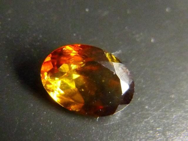 Gemtrading Turquie Izmir 0.72ct Golden Tourmaline , 100% Natural Gemstone