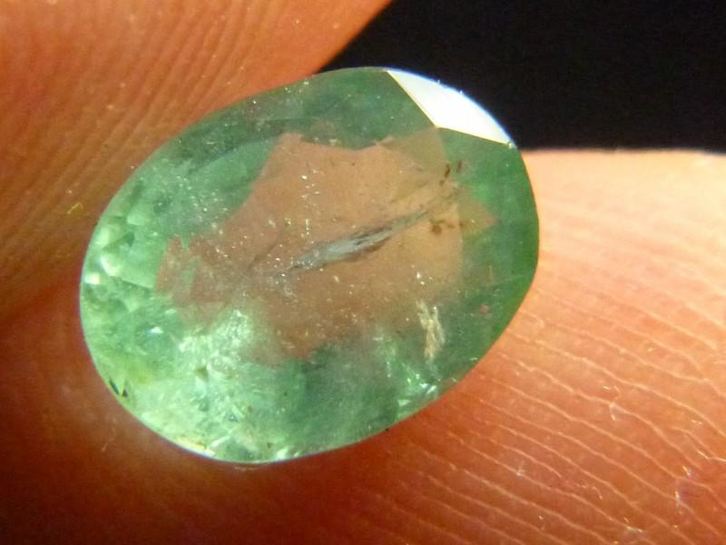 Gemtrading Turkey Izmir 2.08cts Zambian Emerald , 100% Natural Gemstone