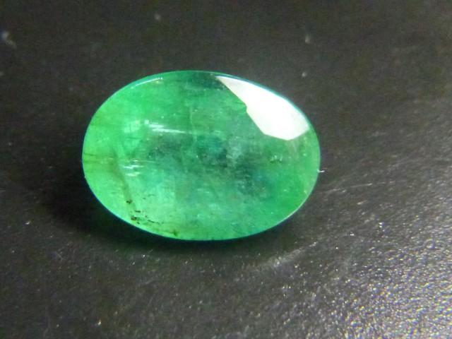 Gemtrading Turkey Izmir 1.21cts Emerald , 100% Natural Gemstone