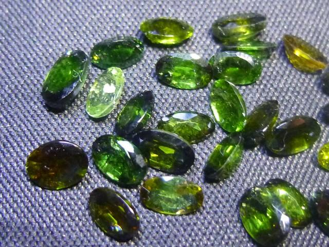 Gemtrading Turquie Izmir 6.85ct Chrome Tourmaline Parcel, 100% Natural Gemstone