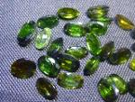 Gemtrading Turkey Izmir 6.85ct Chrome Tourmaline Parcel, 100% Natural Gemstone