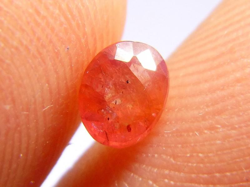 Gemtrading Turquie Izmir 0.72cts Natural Ruby , Untreated Gemstone