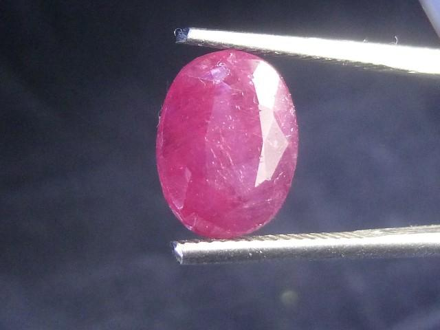 Gemtrading Turkey Izmir 4.77cts Natural Ruby , Untreated Gemstone