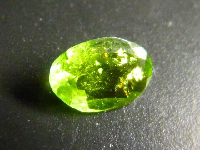 Gemtrading Turkey Izmir 0.58ct Chrome Tourmaline , 100% Natural Gemstone