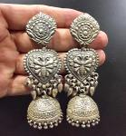 Almas India Telangana Jewelry Earrings Silver
