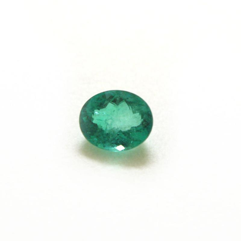 Jpg Gems & Jewellers Inde Delhi Gemstones Emerald Green Oval Cabochon Single Transparent
