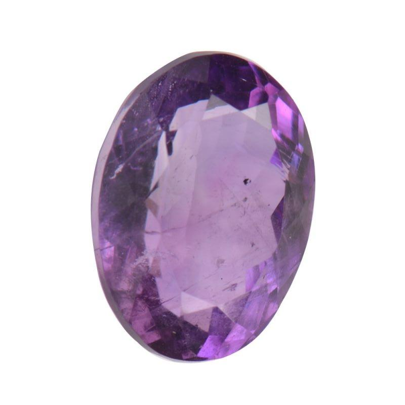 Jpg Gems & Jewellers India Delhi Gemstones Amethyst Purple Oval Cabochon Single Transparent