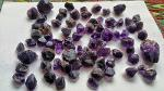 Makminerals Pakistan Khyber Pakhtunkhwa Gemstones Amethyst Purple  Lot Very slight inclusions