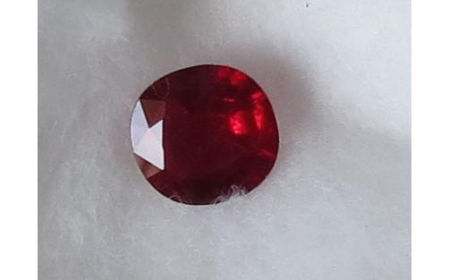 Luanap Italie Roma Ruby Burma Mongshoù 1,478 Kt natural