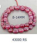 Jayakhetan India Rajasthan Beads Strand Pink Smooth