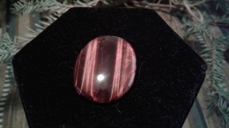 Hollywood West Jewelry USA Texas Red tiger's eye
